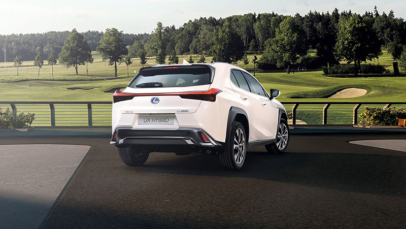LEXUS UX Hybrid Golf Throphy - WINGOLF LEXUS INGREEN
