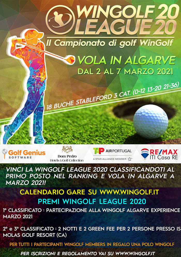 WINGOLF LEAGUE 2020