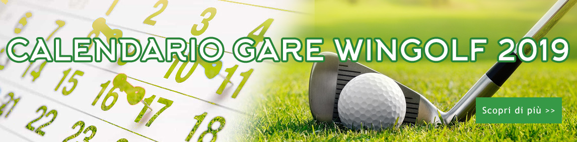 CALENDARIO GARE WINGOLF 2019