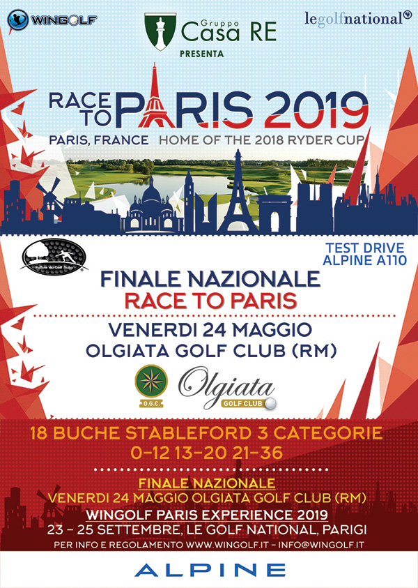FINALE NAZIONALE RACE TO PARIS