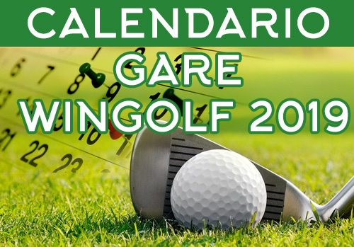 Pelagone Golf Calendario Gare 2021 WinGolf CARD : TUTTE LE GARE DEL 2019